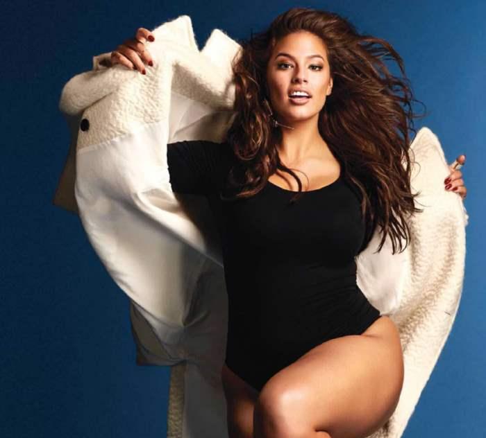 """Эшли Грэм модель """"super-size"""""""