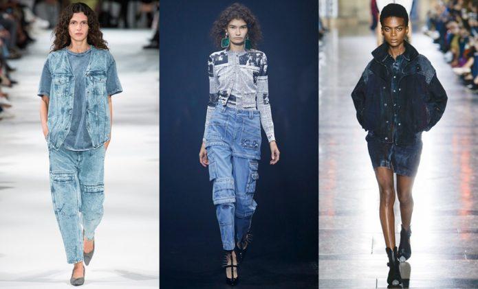 Варёные джинсы-модный тренд этого сезона