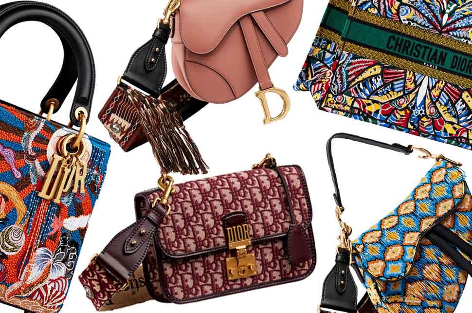 Популярные сумки от Christian Dior 2019
