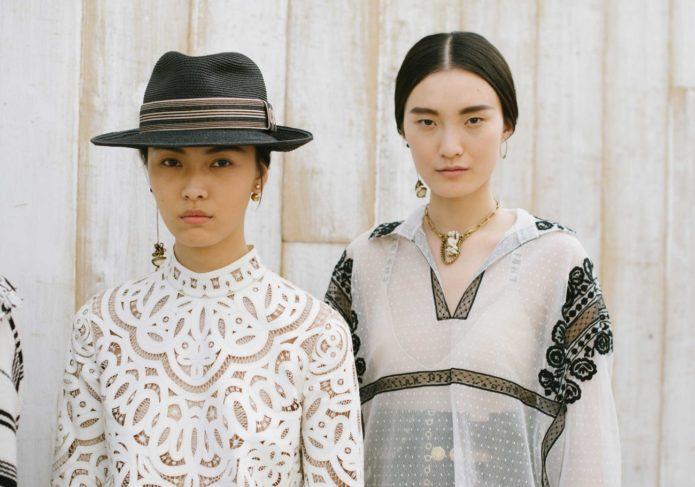 Круизная коллекции Dior 2019. Эскарамуза-муза показа