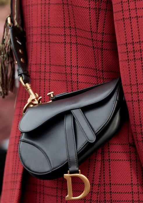 """Популярные сумки Dior. Модель """"Saddle"""""""